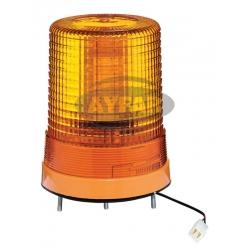 TR512 - 6 DÖNER TRAFİK İKAZ LAMBA  LED TİPİ SARI