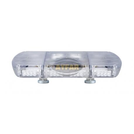 TR102.23 TRAFİK İKAZ LAMBA LED MAVİ-MAVİ (KOMPLE ŞEFFAF)