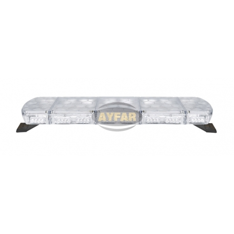 TR104.53 TRAFİK İKAZ LAMBA LED MAVİ-MAVİ (KOMPLE ŞEFFAF)