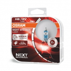 OSRAM H8 NIGHT BREAKER LASER %150 FAZLA IŞIK